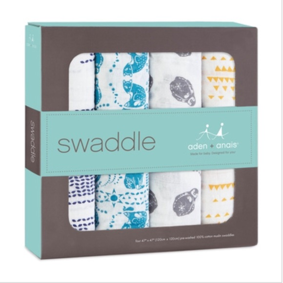 fb08590fbf69 Aden + Anais Classic Swaddle Baby Blanket
